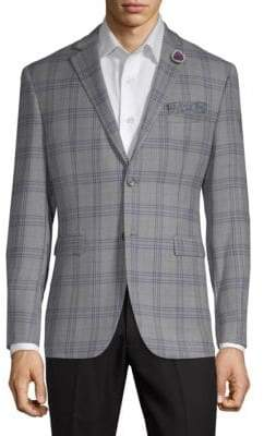 Original Penguin Wool Blend Check Jacket