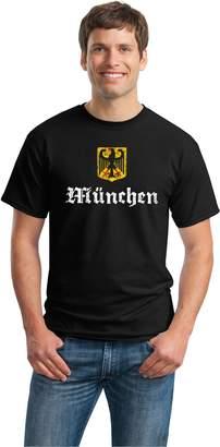 Munich Ann Arbor T-shirt Co. , GERMANY Adult Unisex Vintage Look T-shirt / German City Bavaria