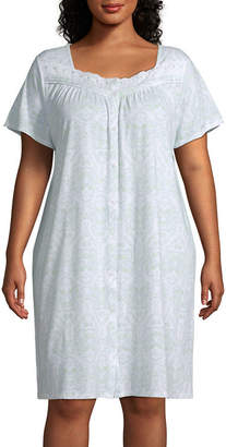 97e25d1f56 Adonna Womens Nightgown Short Sleeve Sweetheart Neck