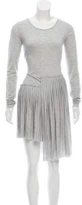 MM6 MAISON MARGIELA Long Sleeve Knit Dress