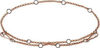 Rosegold Annoushka Hoopla rose-gold bracelet chain