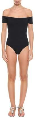 La Mer Mimì a Helo Piquet One-piece Swimsuit