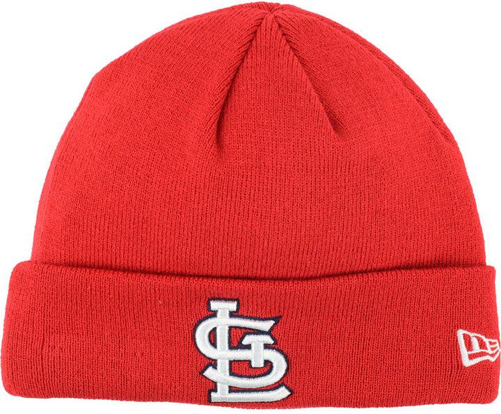 New Era St. Louis Cardinals Basic Cuffed Knit Hat