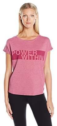 Jockey Women's Power Inspirational Burnout Tees