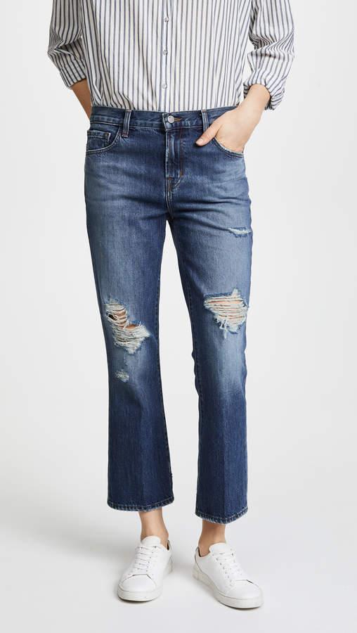 Aubrie High Rise Boot Cut Jeans