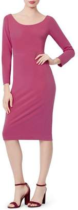 Betsey Johnson Scuba Crepe Body-Con Dress