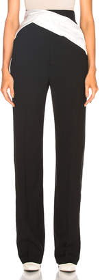 Haider Ackermann Draped Detail Trouser Pant