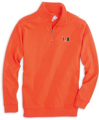 Gameday Skipjack 1/4 Zip Pullover - University of Miami