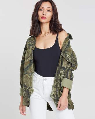 Missguided Hunter Camo Jacket