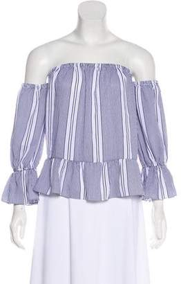 MISA Los Angeles Stripe Casual Top