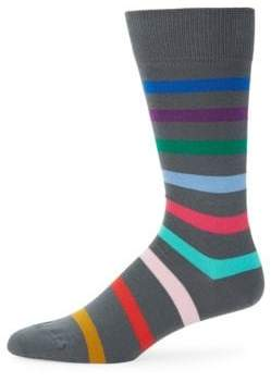 Paul Smith Multicolor Stripe Knitted Socks