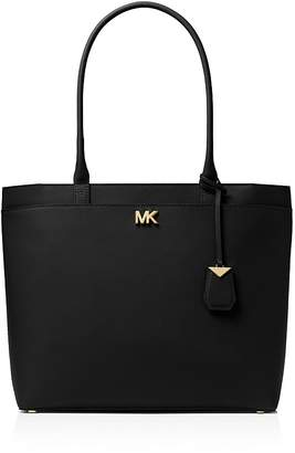 Michael Kors Maddie Large Leather Pocket Tote
