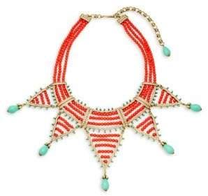 Heidi Daus Swarovski Crystal Beaded Collar Necklace