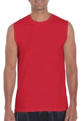 Gildan Big Mens Classic Sleeveless T-Shirt, 2XL