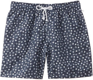 Original Penguin Snowflake Reversible Swim Trunk