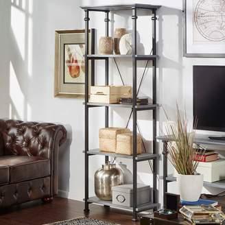 Homevance HomeVance Derry Narrow 4-Shelf Bookcase