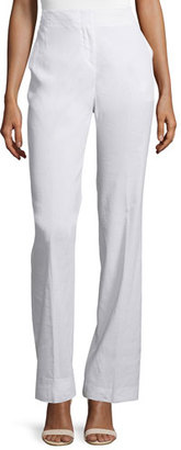 Theory Alldrew Crunch High-Waist Pants $295 thestylecure.com