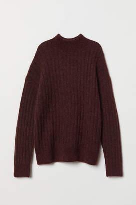 H&M Knitted mohair-blend jumper