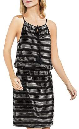 Vince Camuto Embroidered Drawstring Dress