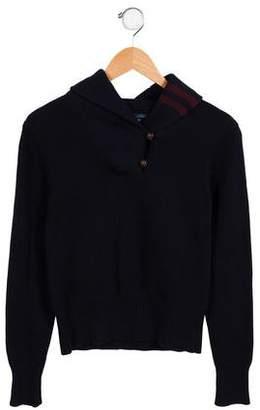 Ralph Lauren Boys' Cashmere-Blend Shawl Collar Sweater w/ Tags