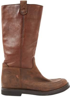Saint Laurent Leather riding boots