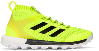 Gosha Rubchinskiy Yellow adidas Originals Edition Copa Mid PK Sneakers