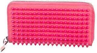 Christian Louboutin Christian Louboutin Leather Spiked Wallet