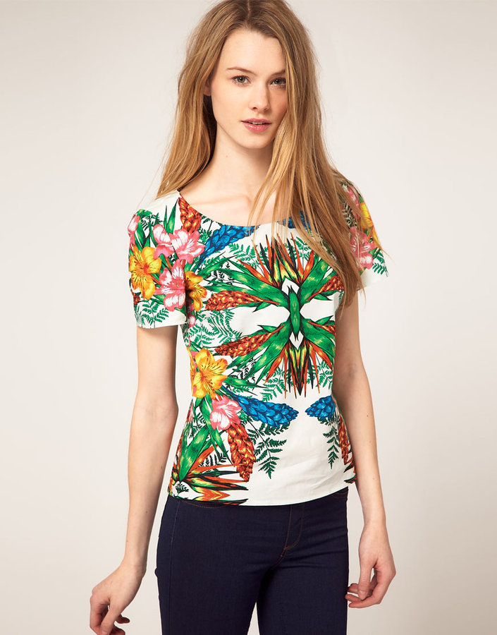 Warehouse Palm Mirage Top