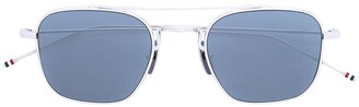 Thom Browne Eyewear tinted aviator sunglasses