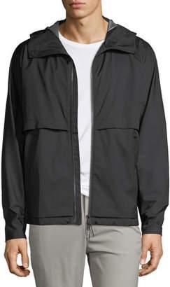Theory Draftbreak Hood Tech Stretch Jacket