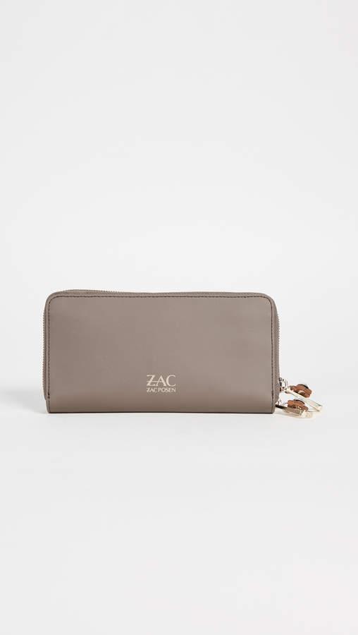 ZAC Zac Posen Earthette Continental Wallet
