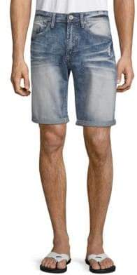 Buffalo David Bitton Evan Basic Denim Shorts