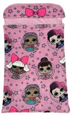 L.O.L Surprise! L.O.L. Surprise! Kids Step-In Blanket, 30 x 54, Bows Rock