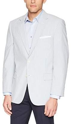 Palm Beach Men's Brock Half Lined Seersucker Sport Coat
