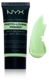 NYX Studio Perfect Photo Loving Primer - Anti-Redness - Green