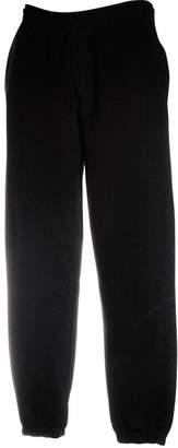 Fruit of the Loom Mens FOTL Elasticated Jogging Sweat Pants-Heather Grey