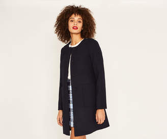 Oasis COLLARLESS COAT