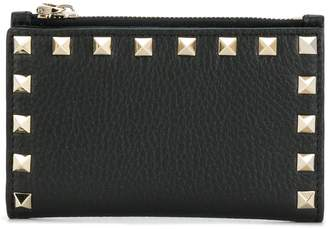 Valentino Rockstud coin purse and cardholder