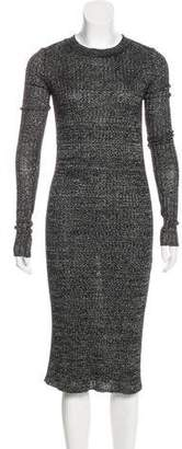 Isabel Marant Linen & Wool-Blend Dress