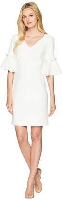 Lauren Ralph Lauren Jordana Short Sleeve Day Dress Women's Dress