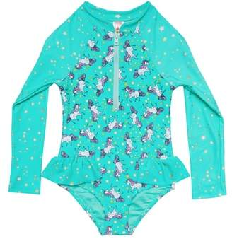 Hula Star Stardust Dream One-Piece Rashguard Swimsuit