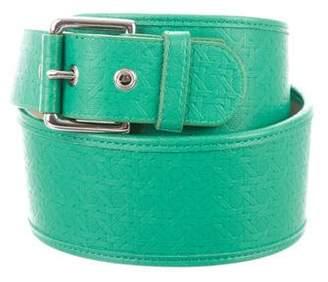 Diane von Furstenberg Patterned Waist Belt
