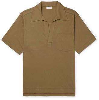 Dries Van Noten Cotton-Jersey Polo Shirt