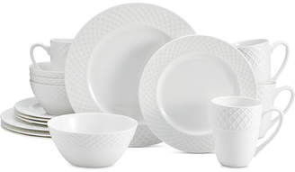 at Macy\u0027s Mikasa Trellis White 16-Pc. Dinnerware Set Service For 4  sc 1 st  ShopStyle & Mikasa Dinnerware - ShopStyle Canada
