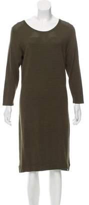 Neiman Marcus Knit Knee-Length Dress