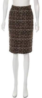 Dolce & Gabbana Knee-Length Bouclé Skirt