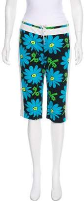 Anna Sui Floral Print Knee-Length Shorts