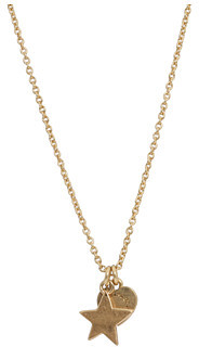 Marc by Marc Jacobs Starlight Friends Double Charm Star Heart Pendant