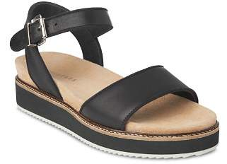 Whistles Women's Kelsey Easy Leather Platform Sandals