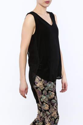 Katherine Barclay Silk Sleeveless Blouse